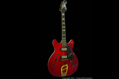 Elvis Presley's '1968 Comeback Special' guitar up for auction