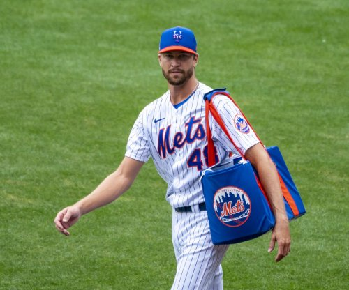 New York Mets ace Jacob deGrom exits start with shoulder soreness
