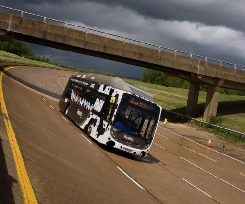 Cow poo-powered bus sets land speed record
