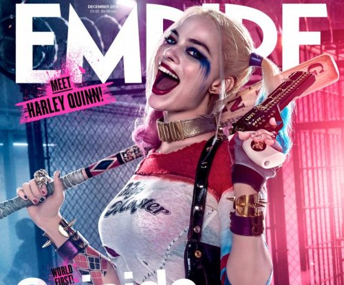 Margot Robbie covers Empire magazine as Harley Quinn