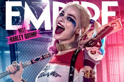 Margot Robbie covers Empire magazine as Harley Quinn