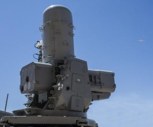 Raytheon SeaRAM intercepts target with new missile variant