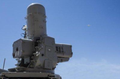 Raytheon SeaRAM intercepts target with new missile variant