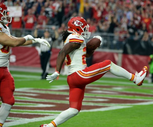 Kansas City Chiefs RB Jamaal Charles back at practice