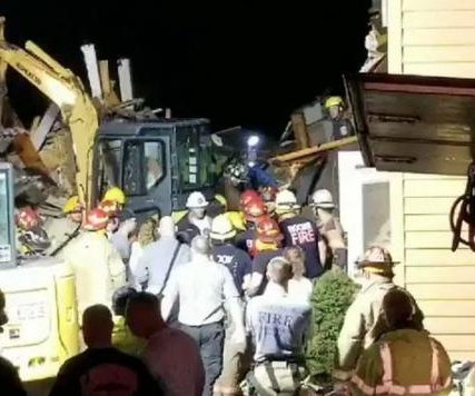 North Carolina landslide collapses home, kills 2