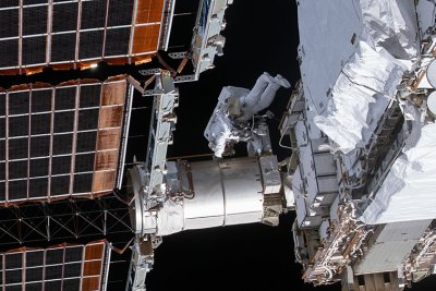 Astronauts plan Saturday spacewalk at space station