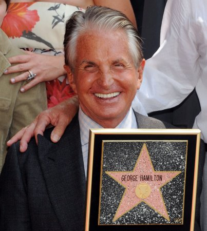 George Hamilton treated for skin cancer