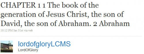 Man tweets entire New Testament