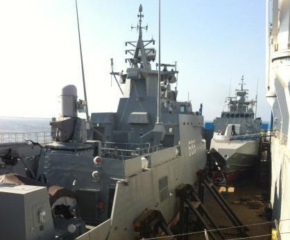 Egypt receives two more Fast Missile patrol boats