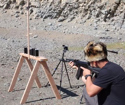 Vlogger shoots iPhones to determine bullet-stopping capabilities