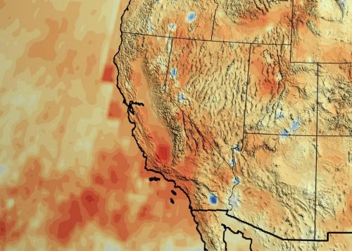 California is behind a whole year's worth of rain