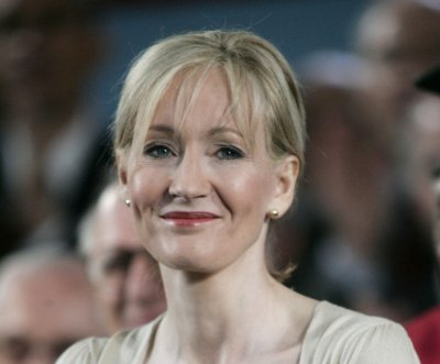 J.K. Rowling wishes James S. Potter good luck at Hogwarts
