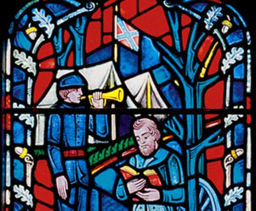 Confederate flags removed from Washington National Cathedral stained-glass windows