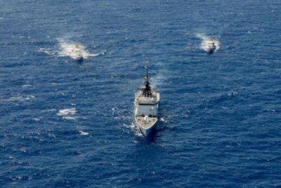 Three Coast Guard cutters head to Europe, Bahrain