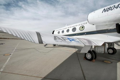 NASA tests airplane with flexible wings in cooperation with U.S. Air Force