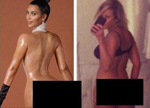 Chelsea Handler recreates Kim Kardashian's Paper magazine cover