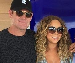 Mariah Carey cozies up to new beau James Packer