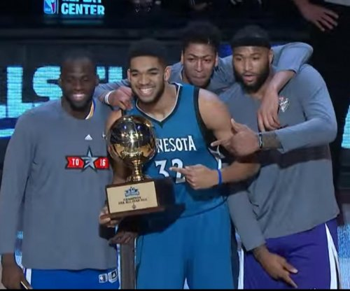 Karl-Anthony Towns wins NBA skills challenge