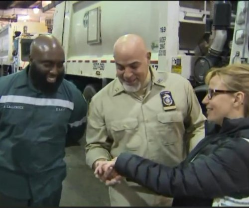 Sanitation workers help New York woman dig for lost wedding rings
