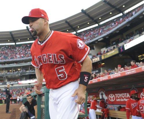 Albert Pujols passes Sammy Sosa on HR list as Los Angeles Angels top Texas Rangers