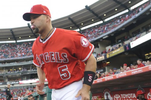 Albert Pujols passes Sammy Sosa on HR list as Los Angeles Angels top Texas Rangers