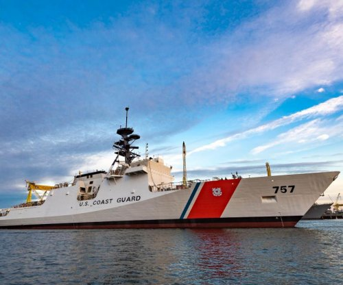 Huntington Ingalls launches 8th National Security Cutter for Coast Guard