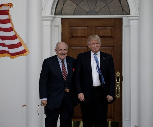 Rudy Giuliani: Trump 'probably' has power to pardon himself