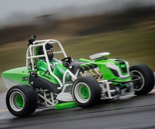 World's fastest lawnmower reaches 133 mph in Norway
