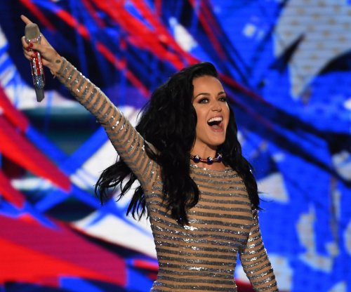 Katy Perry performs 'Rise' and 'Roar', urges voters 'to use your voice' at DNC