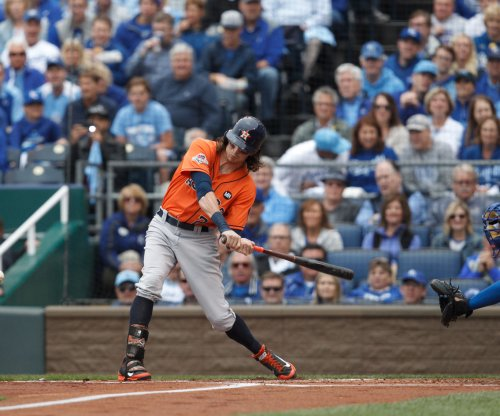 Houston Astros place OF Colby Rasmus on DL with ailing ear