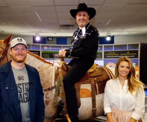 Dale Earnhardt Jr. received a horse named 'Sarah Jessica Parker' from Texas Motor Speedway