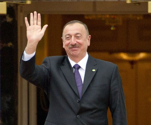 Azerbaijani president wins fourth term in snap election