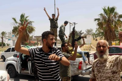 Libyan government calls for cease-fire, elections in March
