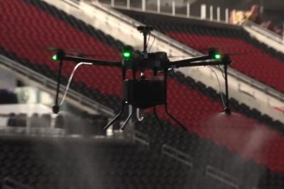 Atlanta Falcons to use drones to clean Mercedes-Benz Stadium after games