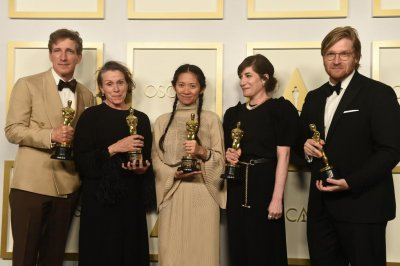 'Nomadland' wins big at the Oscars