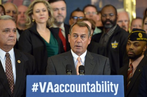 Boehner to Obama: Fix the VA