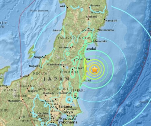 6.9-magnitude earthquake hits Japan near site of deadly '11 tsunami