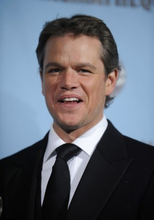 Matt Damon takes stars' ribbing in stride