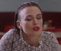 Keira Knightley re-enacts Meg Ryan's orgasm scene from 'When Harry Met Sally'