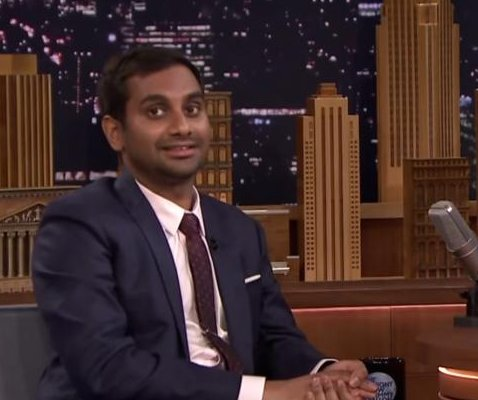 Aziz Ansari reads awkward first texts with Jimmy Fallon