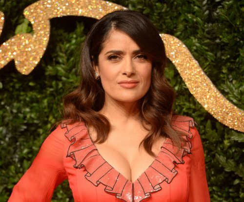 Salma Hayek says her beloved dog was shot to death on her property