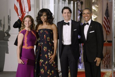 First ladies spotlight gowns by Canadian designers