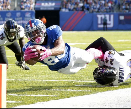 New York Giants WR Victor Cruz active vs. Chicago Bears