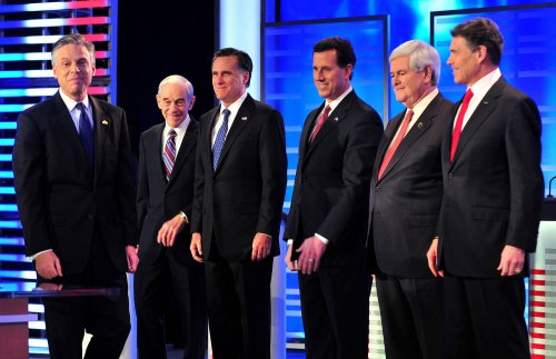 Poll: Romney, Gingrich, Santorum top three
