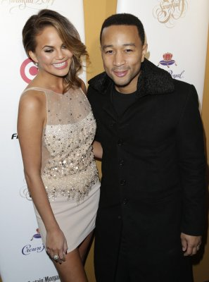 Chrissy Teigen and John Legend celebrate first wedding anniversary in Paris