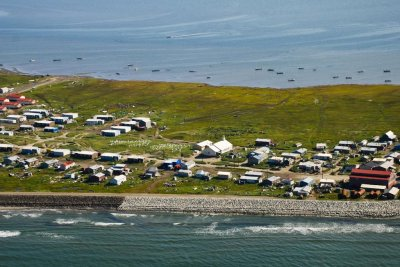 Climate change forces Alaskan town to vote on moving