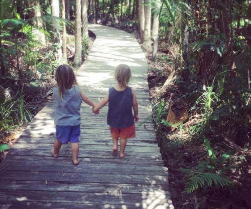 Chris Hemsworth posts rare photo of twin sons: '#littlelegends'