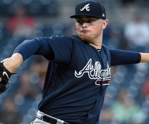 Rookie Sean Newcomb pitches Atlanta Braves past San Diego Padres