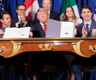 Senate passes, sends U.S.-Canada-Mexico trade deal to Trump's desk