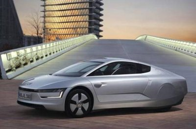 Futuristic Volkswagen gets world's top mileage, CR survey's top cars